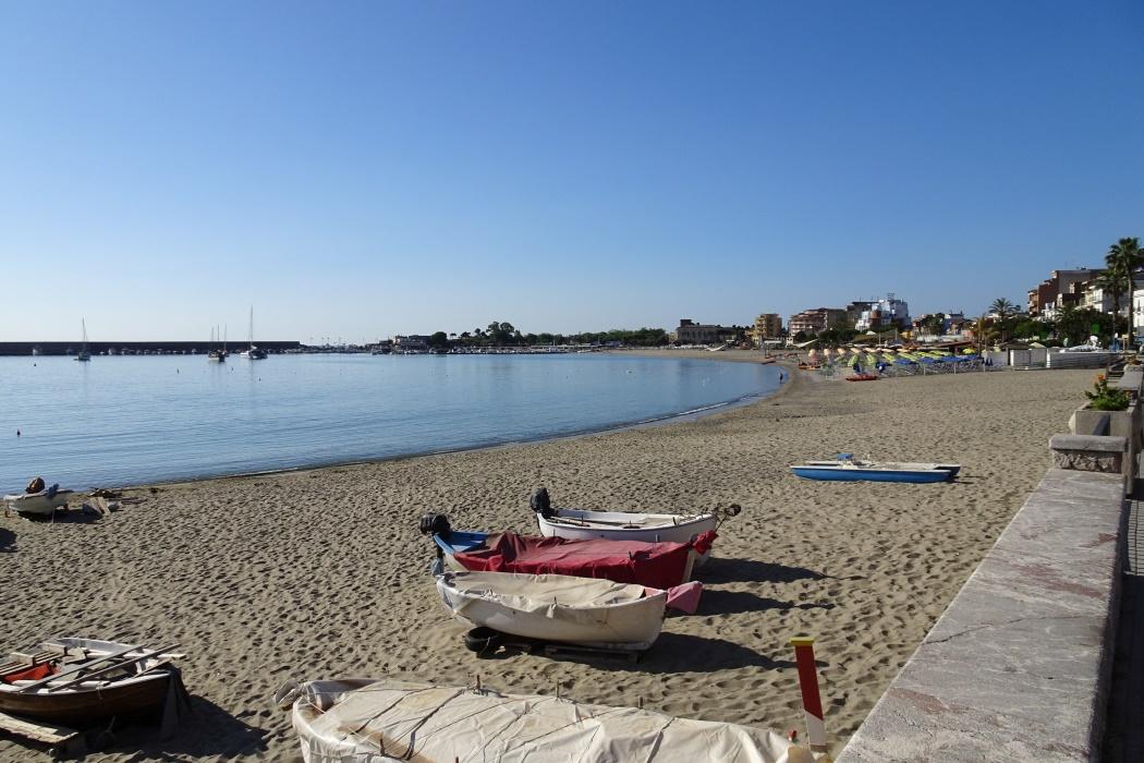 Giardini Naxos plaża