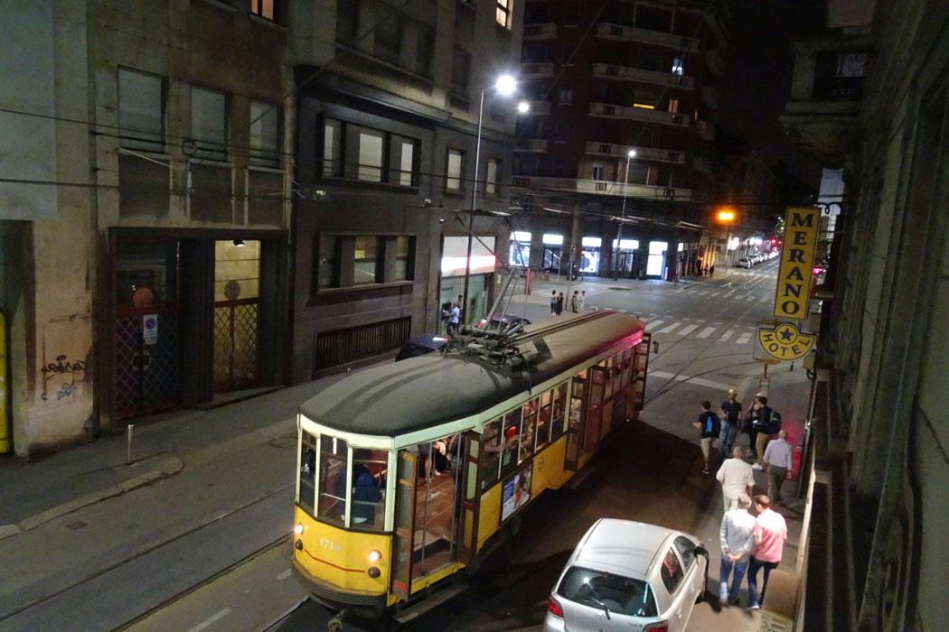 Hałasujące tramwaje pod moim oknem