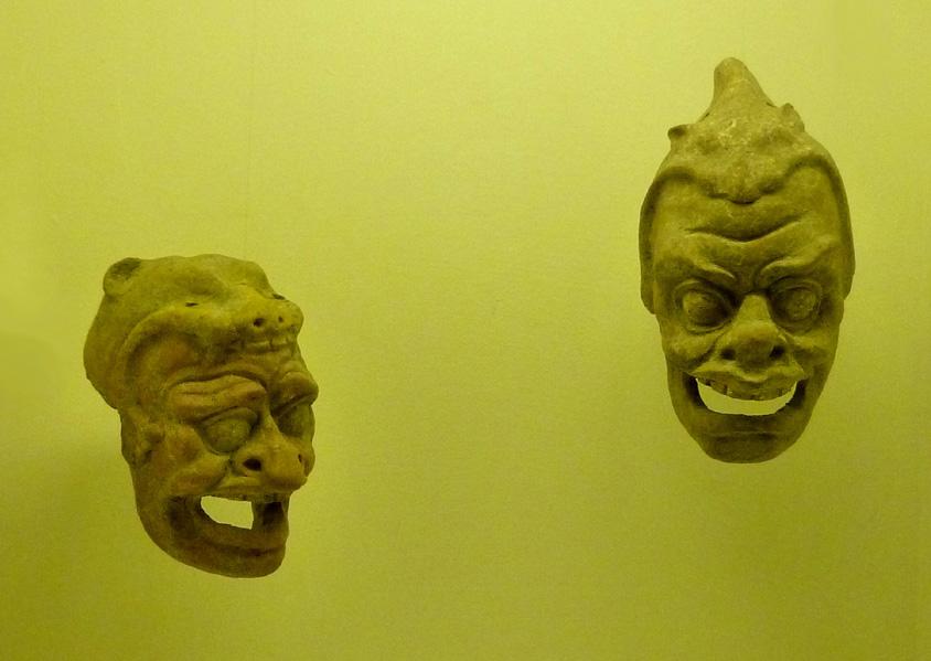 20 Greckie maski