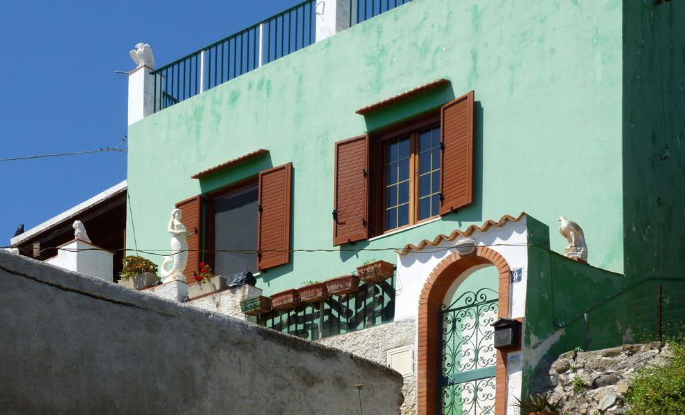 12 Zielony dom