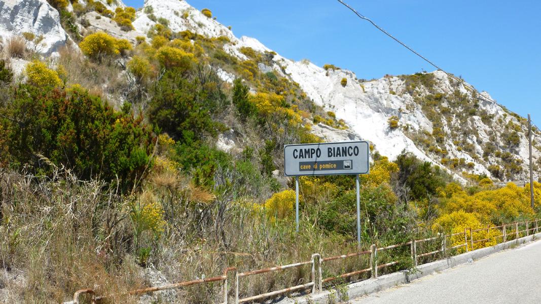 03 Capo Bianco, kopalnie pumeksu