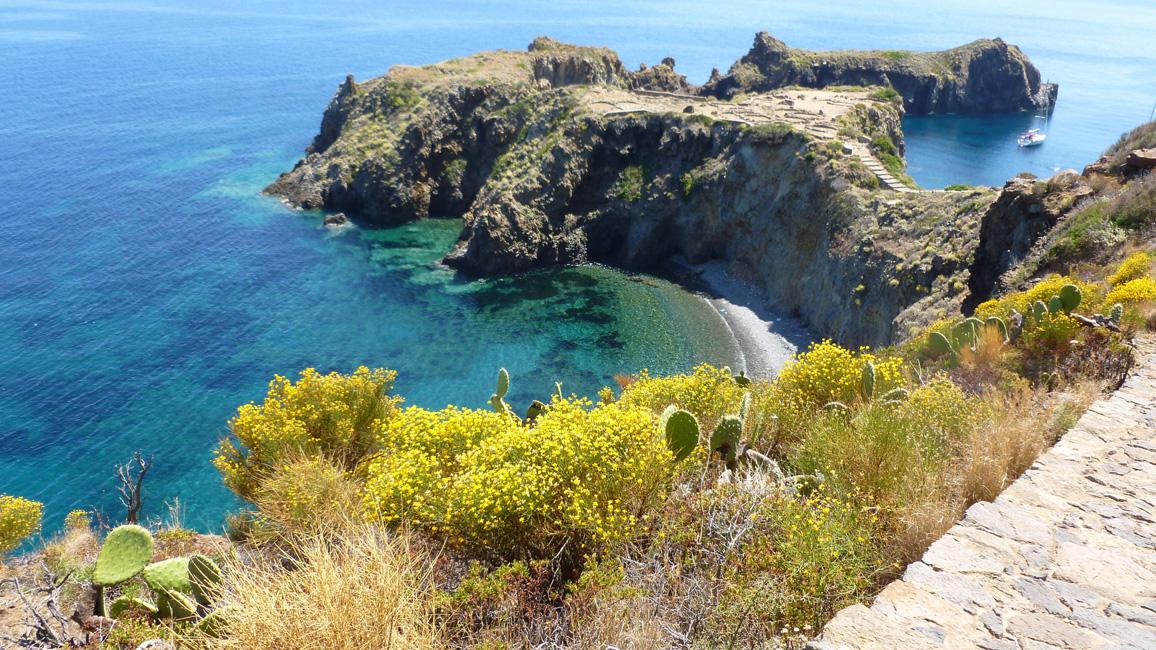 14 I jeszcze spojrzenie na Punta Milazzese przed dalsza droga