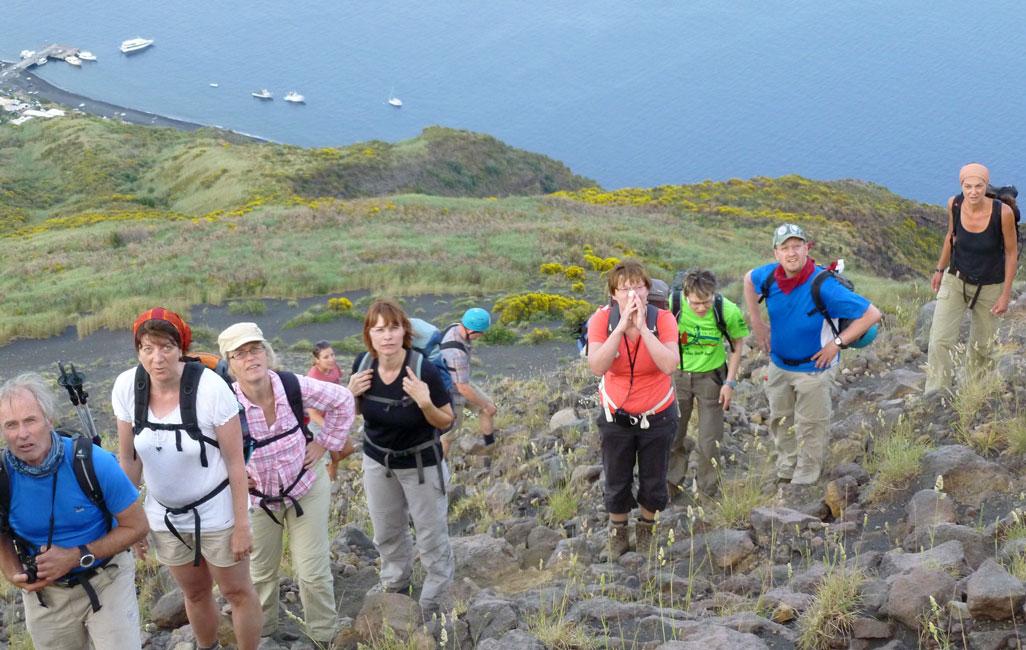 15 Teraz idziemy po wulkanicznych kamieniach