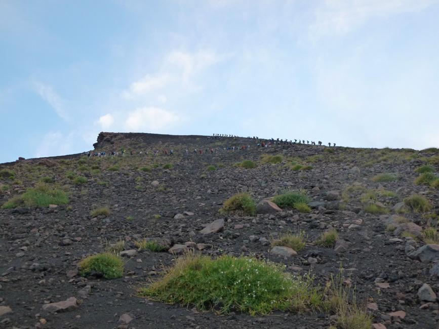 18 Pierwsze grupy sa juz na gorze