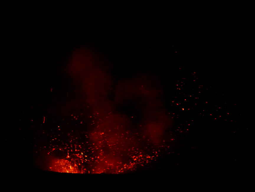35 W kraterze