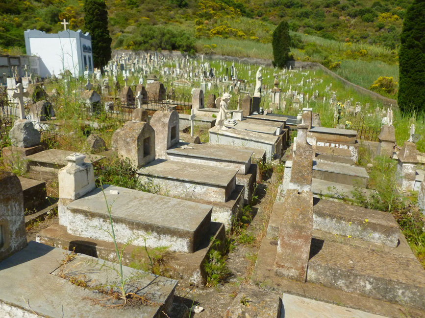 08 Starsza czesc cmentarza