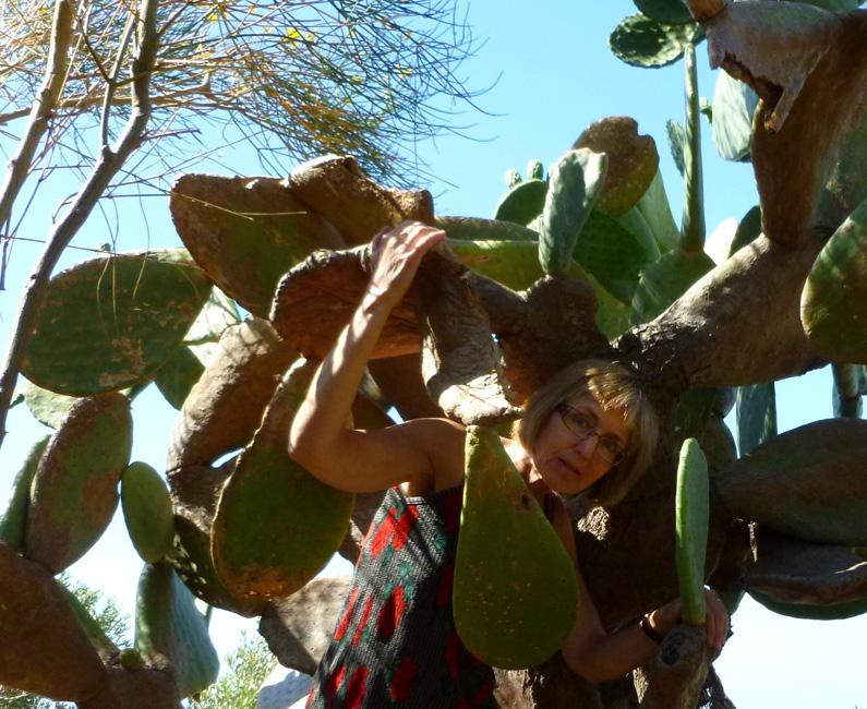 08 Autoportret z kaktusem