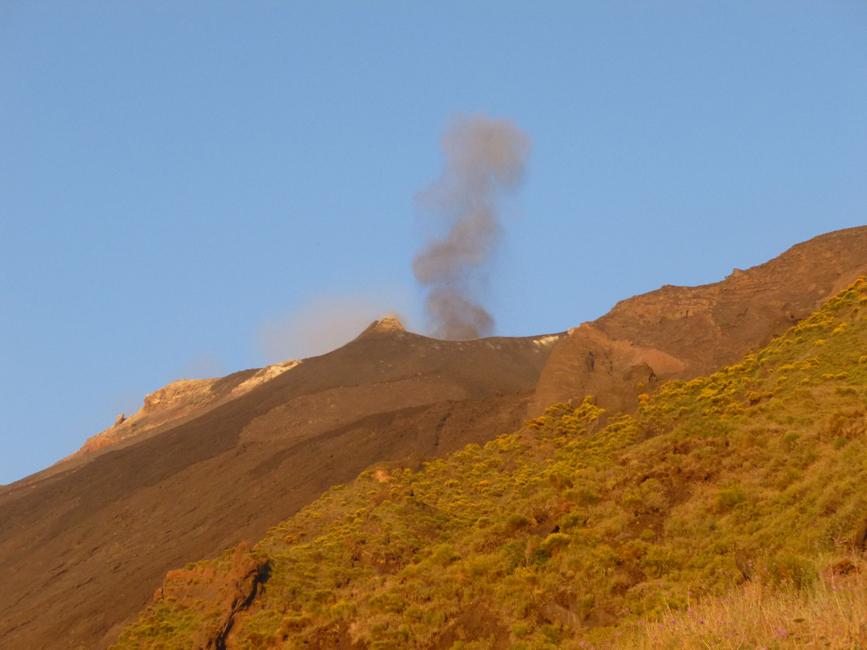 06 Erupcja o zachodzie