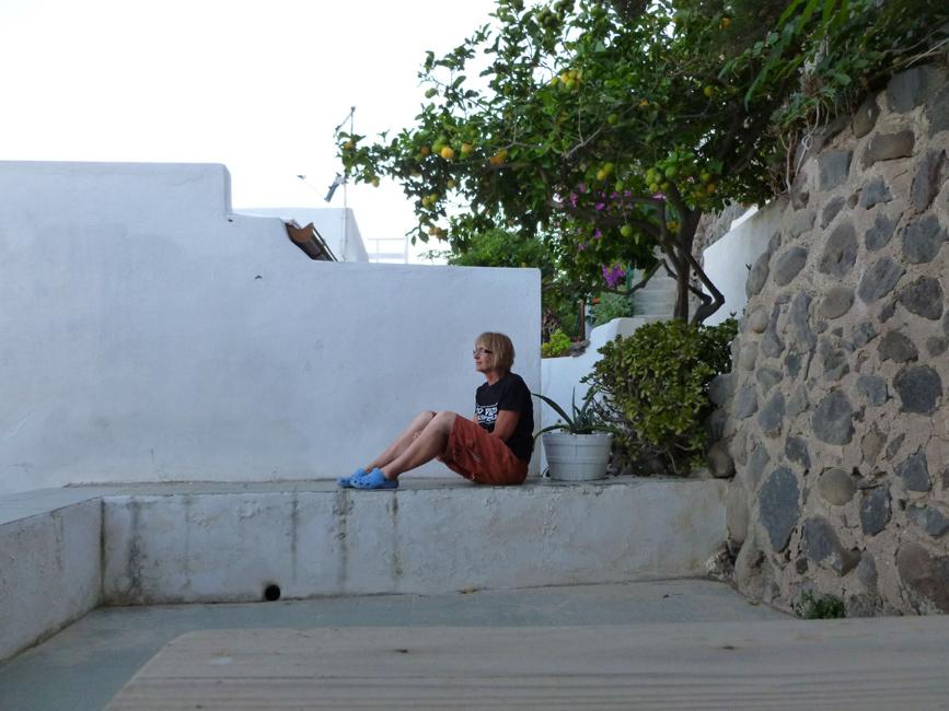 10 Odpoczywam na tarasie