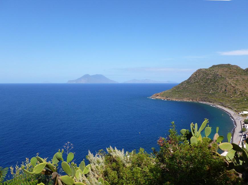 05a Salina i Capo Graziano z gory