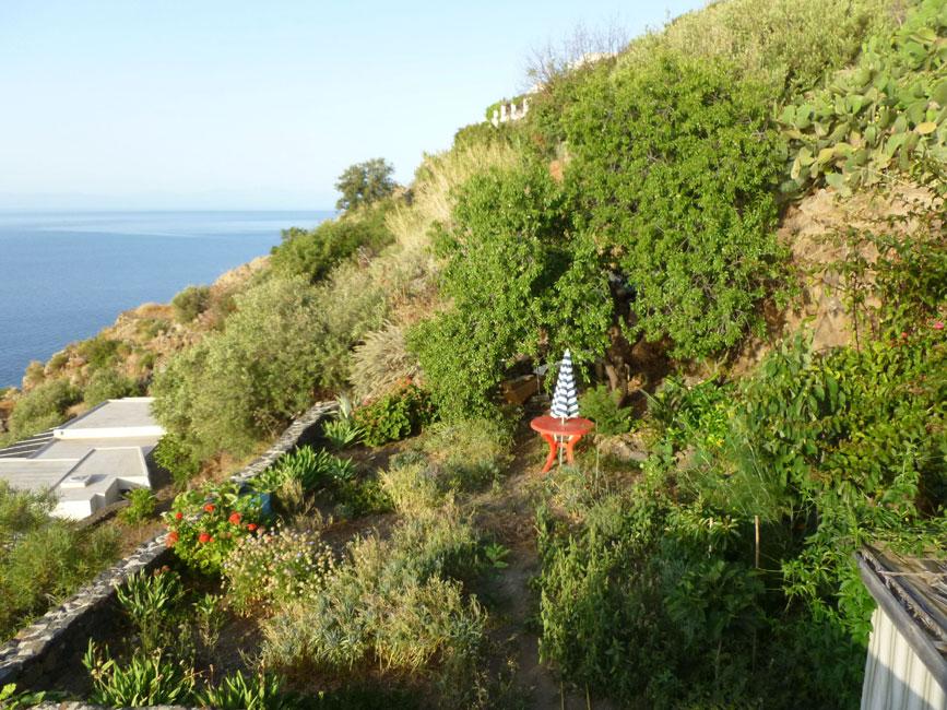 10 Ogrod za tarasem