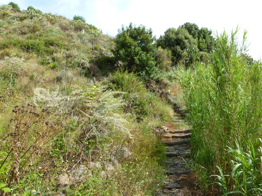 20 Sciezka w kierunku starej wioski Montagna