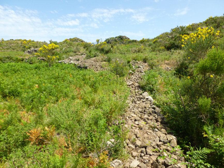 13 Droga w kierunku Montagnole - te dwa kopce