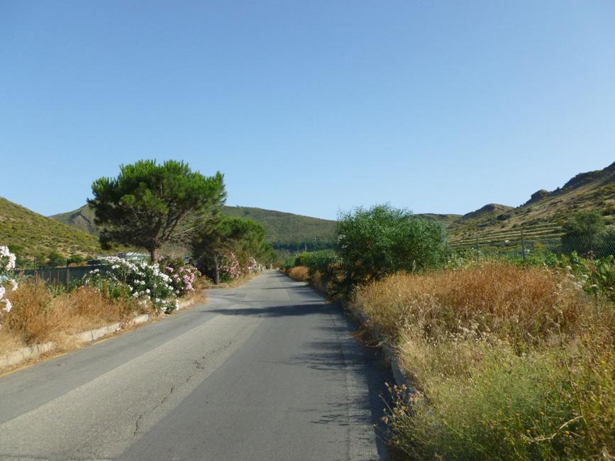 11 Droga w kierunku Vulcano Piano