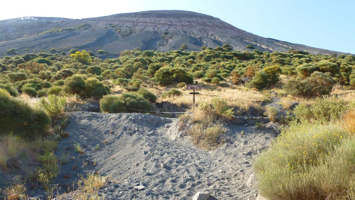 02 Droga do szlaku na wulkan