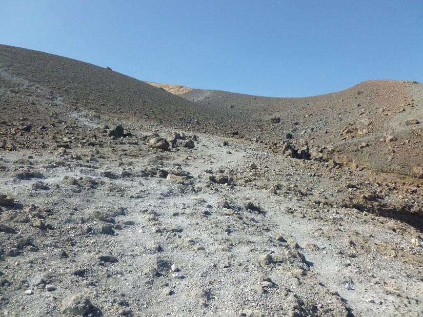 20 Tuz pod kraterem