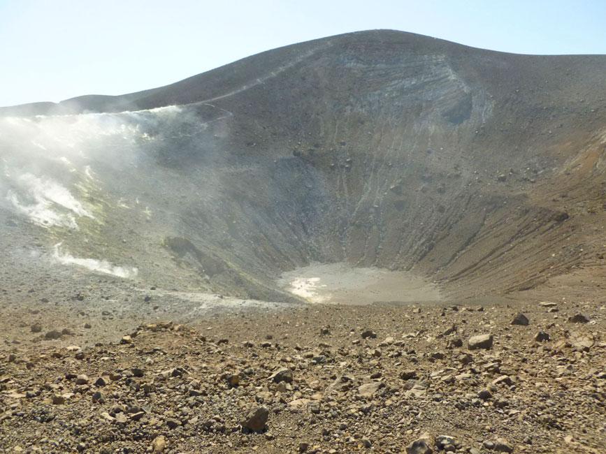 03 Krater wulkanu