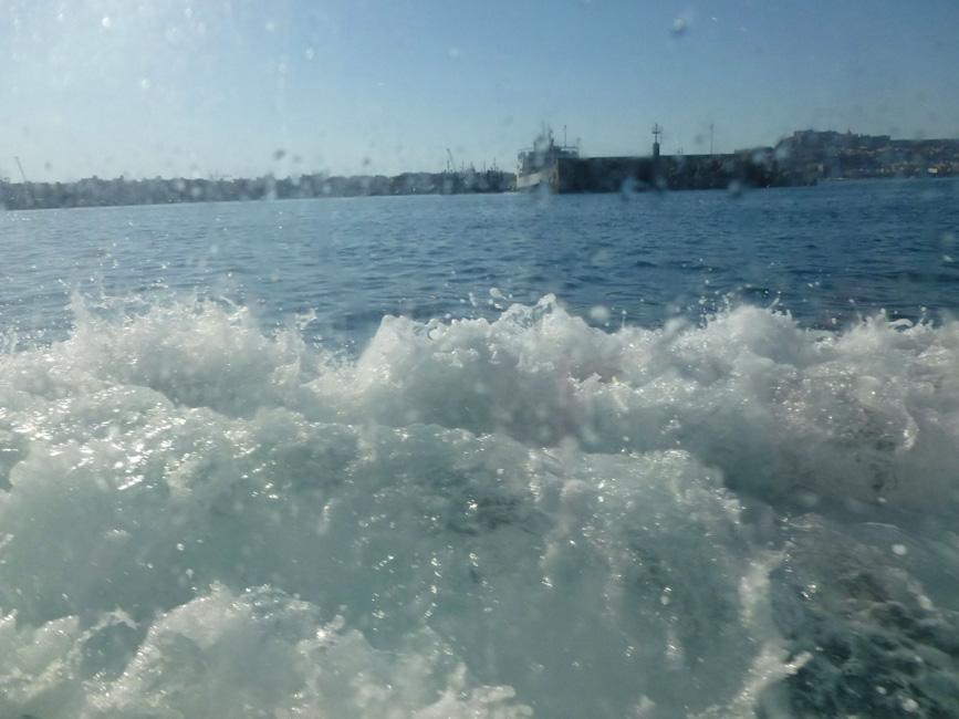 12 spienione morze w okolicach Milazzo - koniec podrozy