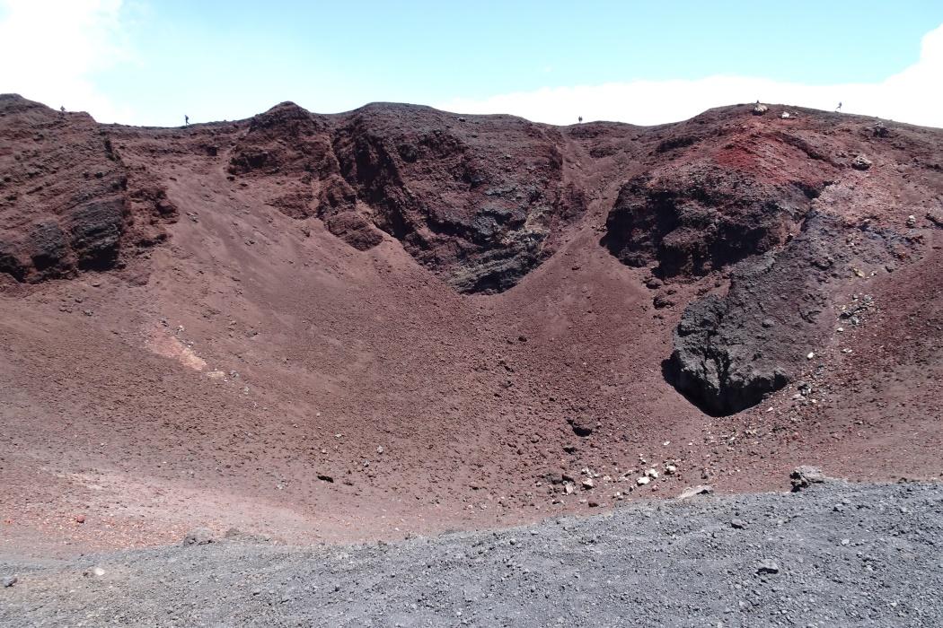 Montagnola, krater