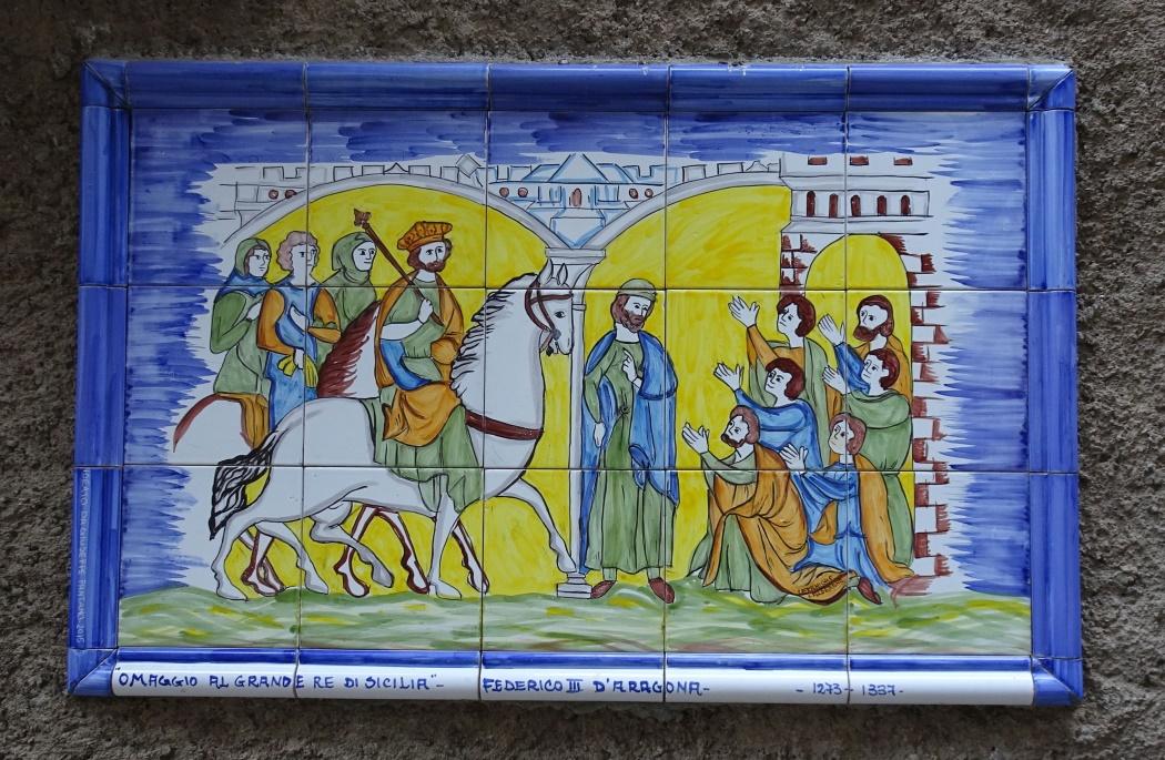 Mozaika na murze