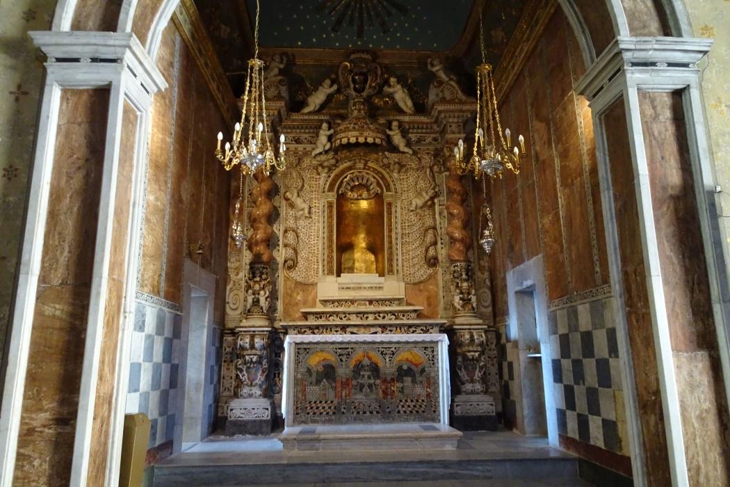 Ołtarz dawnego kościoła